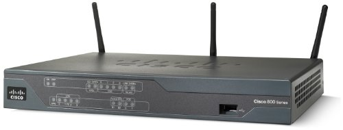 Cisco 881W Integrated Service Wireless-Router (4-Port, 4-polig, 3x RJ45, USB)