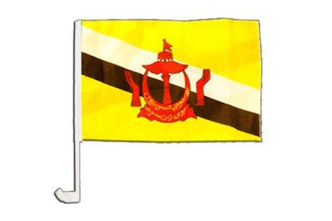 Drapeau de voiture Brunei - 30 x 40 cm