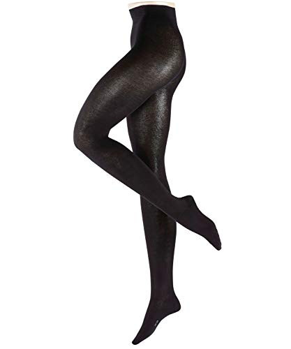 ESPRIT Damen Cotton Feeling W TI Strumpfhose, Schwarz (Black 3000), 40-42