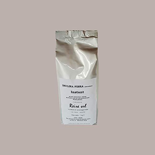LUCGEL Srl 1 Kg Sacchetto Inulina Istantanea in Polvere rende Cremoso Gelato e Prodotti di Pasticceria Instant Inulin Vegetable Fiber