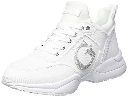 Guess I-Beltin-EU, Zapatillas Deportivas Mujer, Blanco, 39
