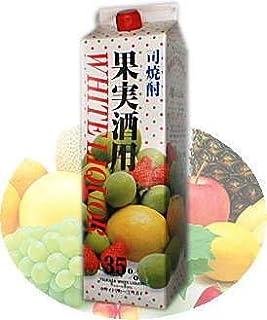 【焼酎甲類】35度 司焼酎果実酒用 ホワイトリカー1800mlパック【2ケース】12本