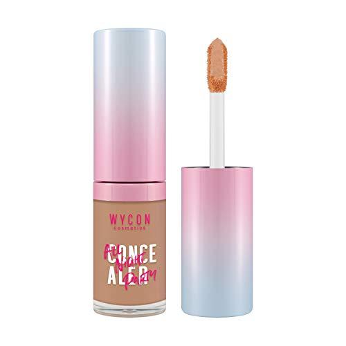 WYCON cosmetics ALL NIGHT PARTY CONCEALER correttore fluido viso e occhi ad alta coprenza e asciugatura rapida (03 NUDE)