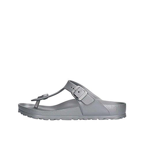 Birkenstock Schuhe Gizeh EVA Normal Metallic Silver (1003496) 38 Silber
