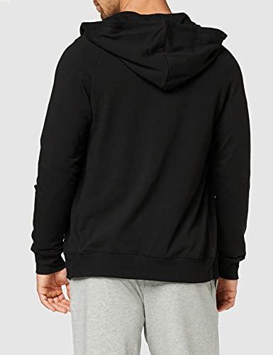 Calvin Klein Full Zip Hoodie Sudadera con Capucha, Negro (Black 001), XL para Hombre