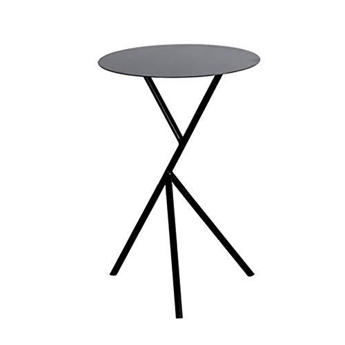 Tavolino Basso Moderno Minimalista Moderno Creativo del Ferro Battuto del Salotto del Salotto Un Piccolo Tavolino Rotondo Dorato Piccolo Tavolino da Salotto in Bianco E Nero