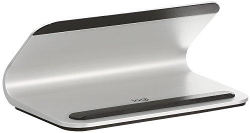 ロジクール ワイヤレス充電スタンド iD10 シルバー Base for iPad Smart Connector搭載 iPad Pro 12.9インチ/10.5インチ/9.7インチ対応 Base 国内正規品 2年間メーカー保証