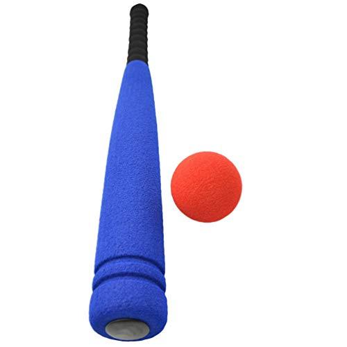 NUOBESTY 2 Stück Kinder Baseball Spielzeug 4 Stück Soft Baseball Schläger Ball Set Baseball Spielset Interaktives Spielzeug für Kinder Geburtstag Outdoor-Geschenk (Zufällige Farbe)