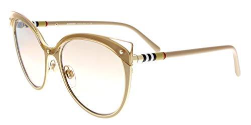 Burberry 0Be3096 12667I 55 Gafas de sol, Dorado (Beige/Gold/Brown), Mujer