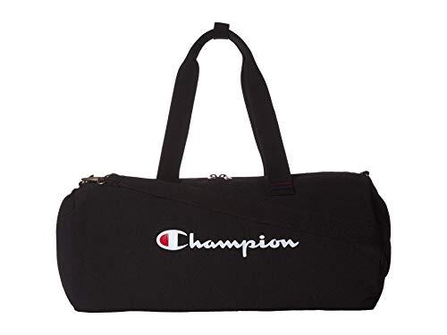 Champion Unisex-Erwachsene Avery Duffel Bag Seesack, schwarz, Einheitsgröße