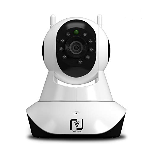 ThinkValue® WiFi Wireless HD IP Security Camera CCTV [Dual...
