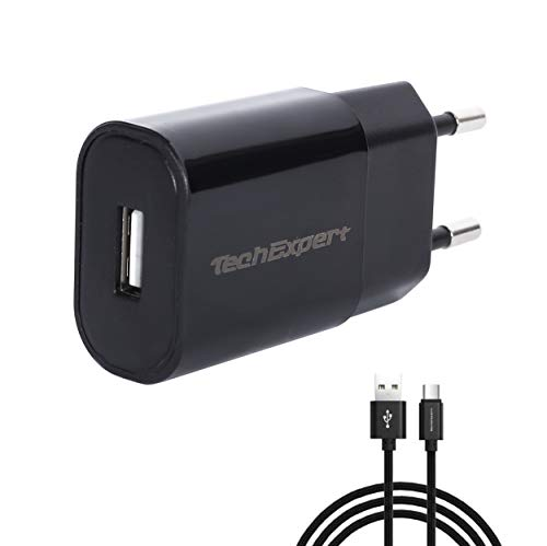 Kit Cargador Negro para ASUS Nexus 7910/ZenPad/Memo Pad FHD 10/Fonepad 78/PadFone 2/Transformer Book T100/TF103C 5V 2000MA