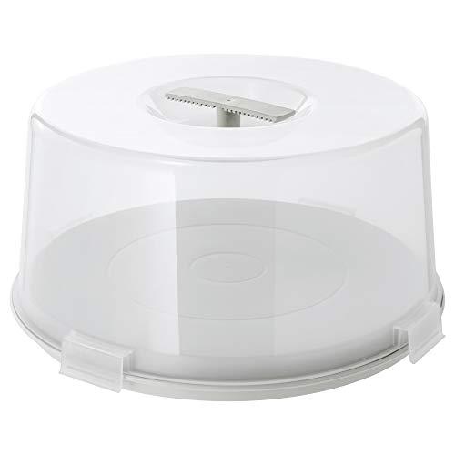 IKEA 203.364.07 Krispig - Soporte para tartas, transparente