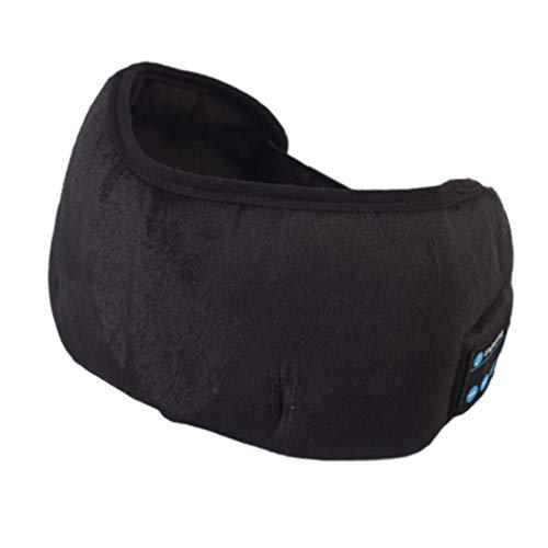 Masque de sommeil / masque pour les yeux, casque de sommeil Bluetooth avec casque sans fil Bluetooth, doux et confortable avec sangle réglable, sieste, yoga et voyage, bandeau Bluetooth de sommeil pou