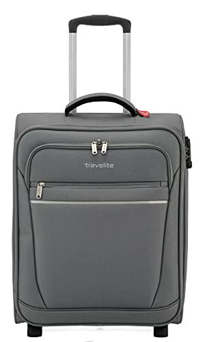 travelite 2-Rad Handgepäck Koffer mit Schloss erfüllt IATA Bordgepäck Maß, Gepäck Serie CABIN:...