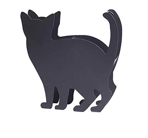 Rurumi 黒猫 蚊取り線香 ホルダー 蚊遣り スタンド 立て 入れ 蚊やり (猫 A)
