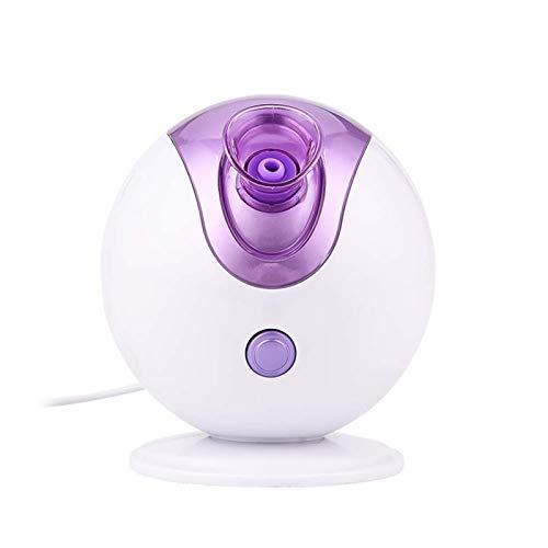 LQH -Facial Steamer SPA Professionele Gezichtssauna Met Hete Mist Hydraterende Sproeier Nano Facial Steamer Huidbevochtiger Voor Poriënreiniging En Mee-Etersverwijderaar,Purple