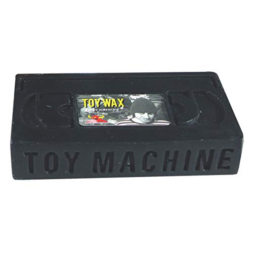 Toy Machine Skateboards VHS Black Skate Wax by Toy Machine Skateboards