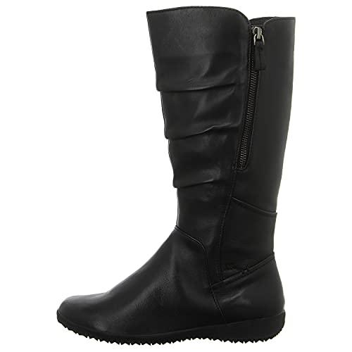 Josef Seibel Damen Klassische Stiefel Naly 45, Frauen Stiefel,Weite G (Normal),Boots,Winterstiefel,Winterschuhe,schwarz,41 EU / 7 UK