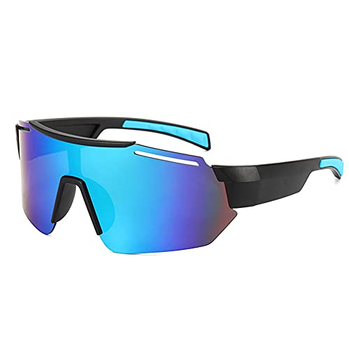 Fietsspiegels voor heren en dames, zonnebrillen, kleurrijk buitengebruik voor fietsen, mountainbikes, hardlopen, skiën, golfsporten, gepolariseerde zonnebrillen