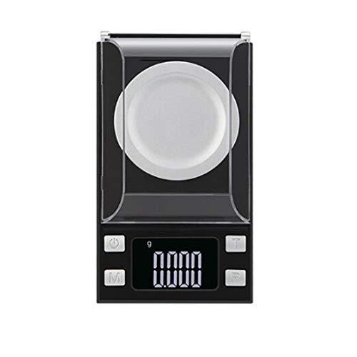 High-end Sieraden Scale 0,001 G, Nauwkeurig Wegen Lippenstiftpoeder Mini Elektronische Weegschaal Digital Kitchen Weegschalen (Size : 20g/0.001g)