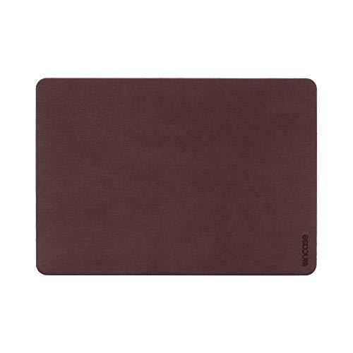 Incase Textured Hardshell in NanoSuede for 13-inch MacBook Pro - Thunderbolt 3 (USB-C) - Merlot