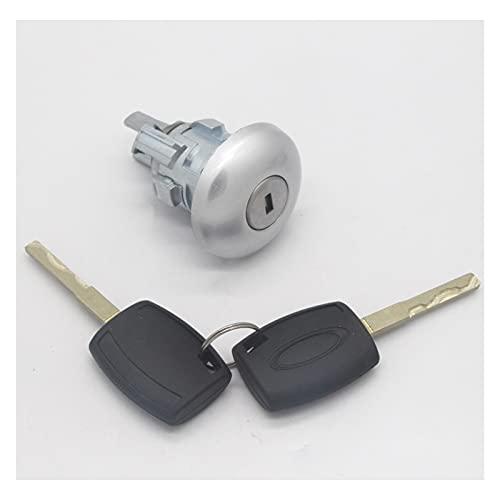 SHUANGXI benliestore Conjunto de Bloqueo Completo Interruptor de Encendido Cerradura de la Puerta Fit para Ford Transit MK8 Tourneo (Color : Left Lock)