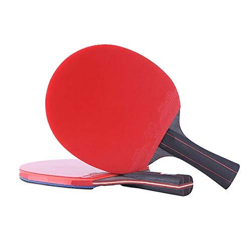 ZTLY Campeón Tabla Raqueta de Tenis Profesional China Mesa de Ping Pong Rojo Y Negro de Carbono Tabla Raqueta de Tenis