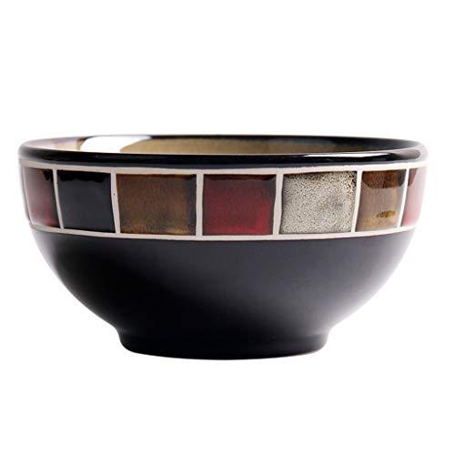 (5 pollici) Ciotole per cereali Ciotole in ceramica Ciotole in ceramica, ciotole per cereali/zuppiere Ciotole per dolci Ciotola per insalata (dimensioni : 5-inch)
