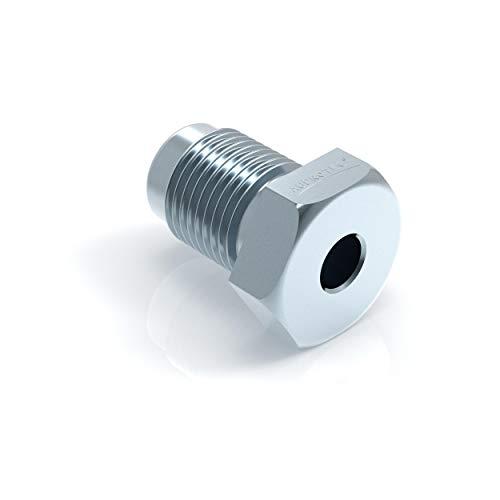50x Verschraubung M10 x 1 für Bremsleitung 4,75 mm Bördel F Typ A Profi Verbinder DIN/ISO 1651 konform