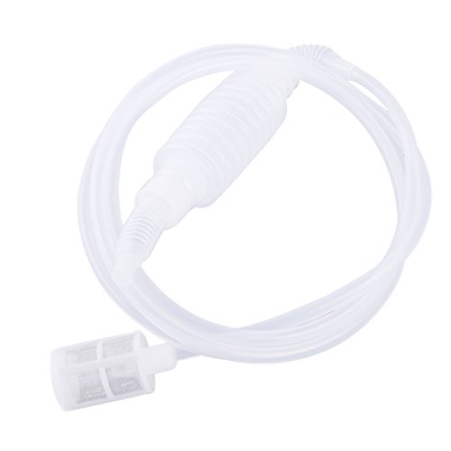 77.56 inch Home Brew Syphon Tube Pipe Wine Beer Making Hand Siphon Filter Plastic