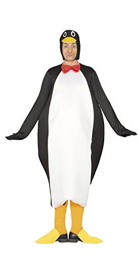 Guirca - kostium dla dorosłych pingwin, rozmiar 52-54 (80878.0)