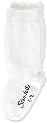 Sterntaler Unisex Baby Kniestrümpfe Doppelpack Socken, Weiss, 15-16
