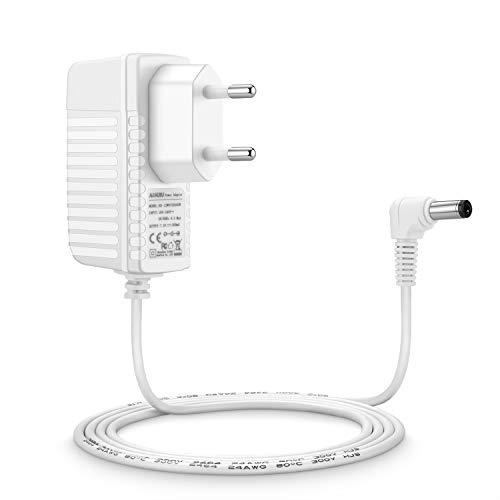 Aukru 7.5V Ladegerät Netzteil für Babyphone Philips Avent Baby-Einheit SCD510/525 Weiß