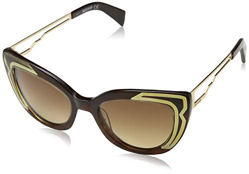 Just Cavalli JC791S 52F 51 Montature, Marrone (Avana ScuraMarrone Grand), Donna