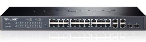 TP-Link 24p+4G/2SFP Gigabit 10/100, TL-SL2428 (10/100 Smart Switch)