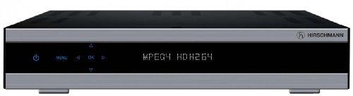 Triax -Hirschmann 2S-HD 950 Digitaler HDTV-Twin-Satelliten-Reciever (500GB Festplatte, S-VHS, HDMI, Aufnahmefunktion, USB 2.0) schwarz
