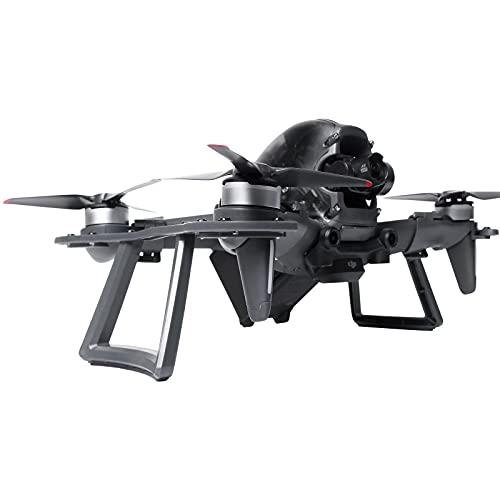 Fututech 2 en 1 - Tren de aterrizaje elevado, 28 mm + protector de motor para DJI FPV RC anti-colisión, sello mejorado de Drone