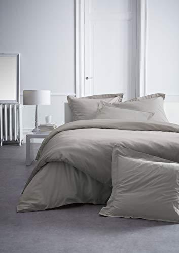 Today 017111 Premium Percale Drap Housse Coton Beige 160 x 200 cm