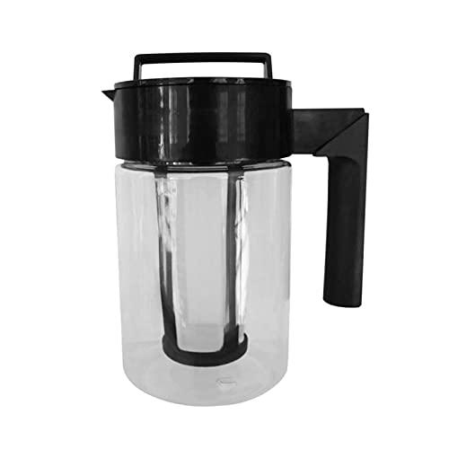 Mrożona ekspres do kawy 900ml z hermetycznym uszczelką silikonową czajnik do kawy, ekspres do kawy z zimną wodą Deluxe, (Size : 2000ml)