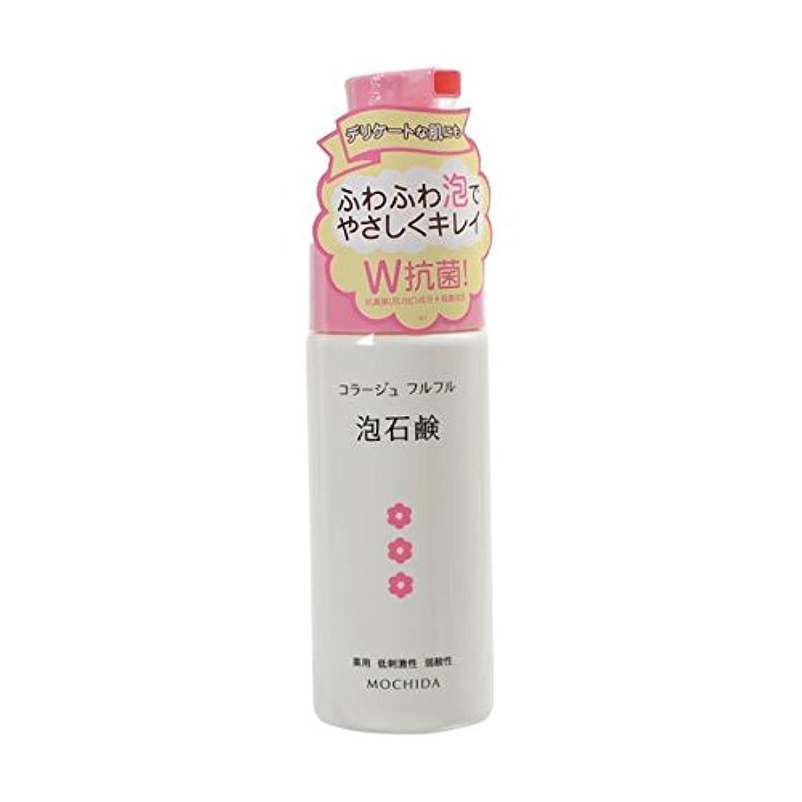 格納まばたき絡み合いコラージュフルフル 泡石鹸 ピンク 150mL (医薬部外品) ×4
