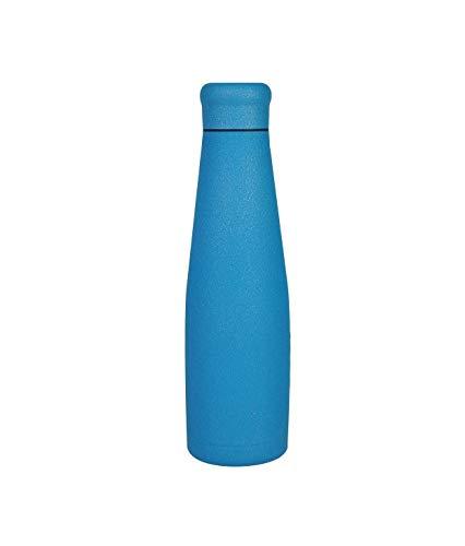 WoodWay - Botella térmica de 550 ml, color azul brillante