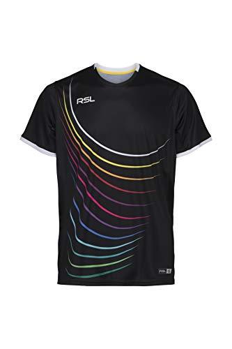 FORZA RSL Men Queens T-Shirt schwarz/Multi - schwarz, 2XL