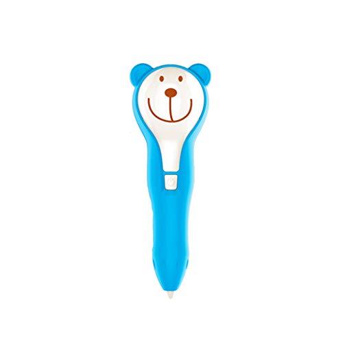 YB3DB Premier stylo d'imprimante d'impression de dessin 3D, cadeaux d'anniversaire pour inspirer la créativité des enfants (bleu)