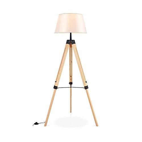 YANQING Duurzame Vloerlamp moderne Eenvoudige Persoonlijkheid Intrekbaar Hoog en LoSolid Hout Statief Hout Prachtige Delicate Polijsten Unieke Artistiek Temperament A++ (Kleur : H), Kleur:K