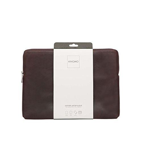 Knomo 45-100-BRN Barbican Sleeve for 12-Inch Laptop - Brown