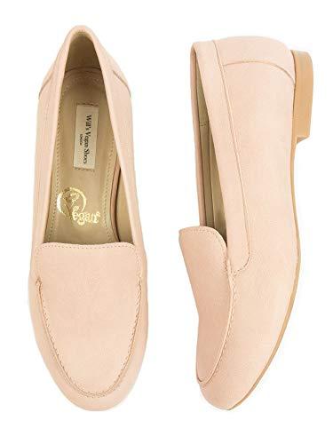 Will's Vegan Shoes - Mocasines para mujer, color rosa, color Rosa, talla 39 1/3 EU