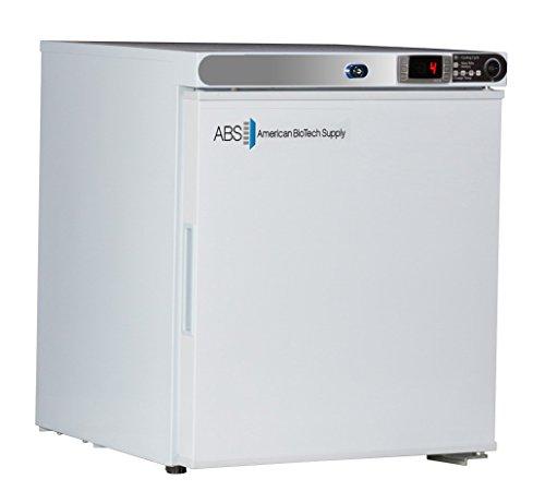 American BioTech Supply ABT-HC-UCFS-0104 Premier Undercounter Refrigerator, Freestanding, 1 cu. ft. Capacity, White