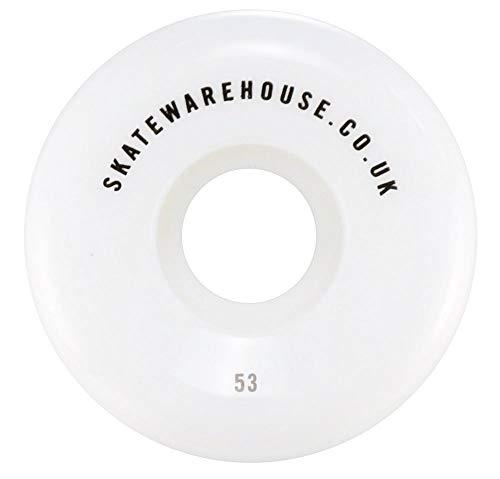 Skatewarehouse - Ruote coniche per Skateboard/Pattinaggio 52/53/54mm/99A, 54 mm