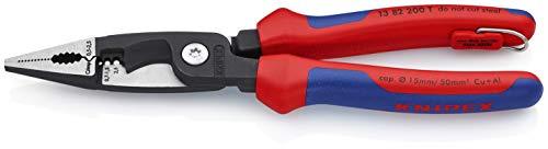 KNIPEX Alicate para instalaciones eléctricas (200 mm) 13 82 200 T